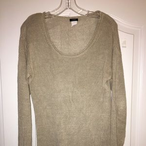Linen J. Crew sweater